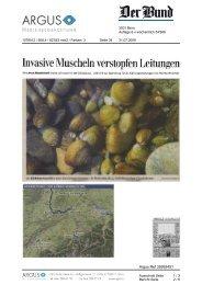 Invasive Muscheln verstopfen Leitungen