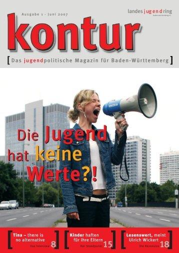 [Das jugendpolitische Magazin für Baden-Württemberg ]