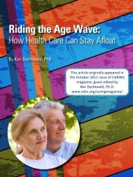 How Health Care Can - Age Wave