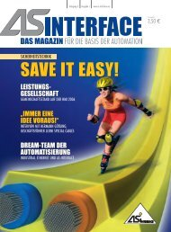 SAVE IT EASY! - AS-Interface