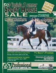 Download the Sale Catalog - Professional Auction Services, Inc.