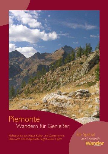Piemonte Wander Special - Maggioni Tourist Marketing