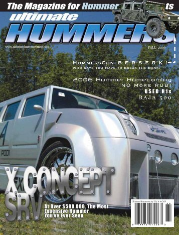 The Magazine for Hummer ts - The Hummer Experience