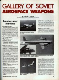 Gallery of Soviet Aerospace Weapons - Air Force Magazine