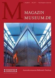MAGAZIN MUSEUM.DE - leisureworkgroup