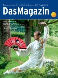 Das Magazin 3|2012 - Deutsche BKK