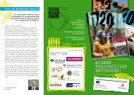 h20-Workshops - ESF für Jugendliche