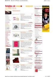 Seite 1 von 2 BRIGITTE - Kreativ & Wohnen ... - Seasons Tea