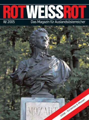 III/ 2005 Das Magazin für Auslandsösterreicher