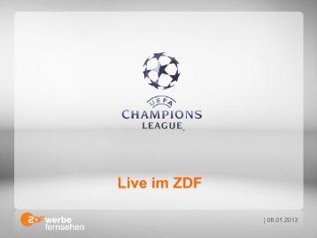 Live im ZDF - ZDF Werbefernsehen