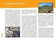 Achtsames Wandern - La Vida Magazin