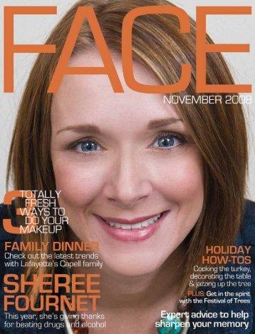 November 2008 FACE Magazine 1 November 2008 FACE Magazine 1