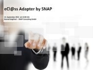 Short Presentation Title - SNAP Consulting