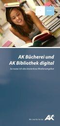 AK Bücherei und AK Bibliothek digital (pdf 350 - AK - Tirol