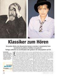 Klassiker zum Hören - Barbara Schaefer
