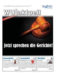 Ausgabe 10/2010 - ÖH WU