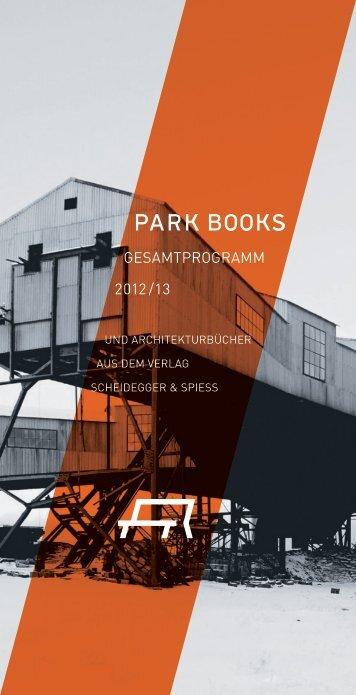 Gesamtverzeichnis (PDF) - Park Books