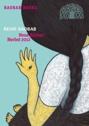 Vorschau Herbst 2012 - Baobab Books