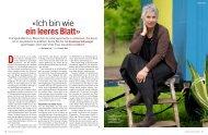 schweizer familie «Ich bin wie ein leeres Blatt - Susanna Schwager