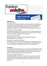 """Online"""" + ausleihen = Onleihe"""