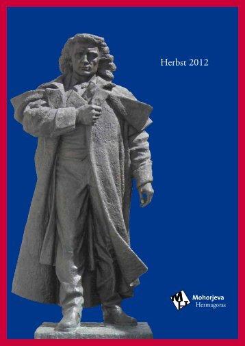 Buchkatalog Herbst 2012 - Mohorjeva