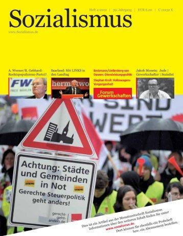 Gewerkschaften Forum - Rosa-Luxemburg-Stiftung