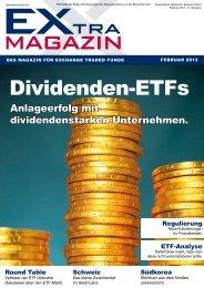 Dividenden-ETfs - EXtra-Magazin