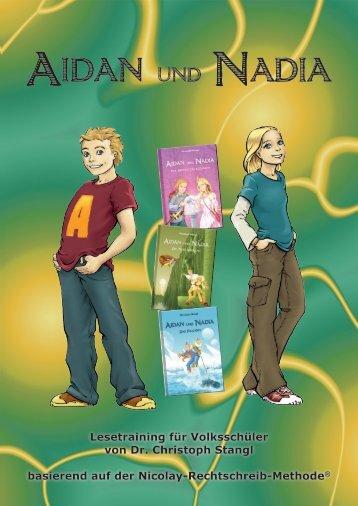 Lesetraining kostenlos downloaden - Aidan und Nadia