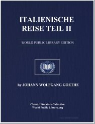 ITALIENISCHE REISE TEIL II - World eBook Library - World Public ...