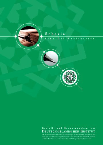 Scharia - Deutsch-Islamisches Institut