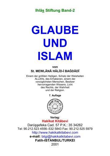 GLAUBE UND ISLAM - Hakikat Kitabevi