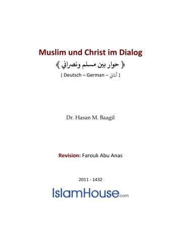 Muslim und Christ im Dialog - Way to Allah
