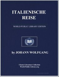 ITALIENISCHE REISE - World eBook Library