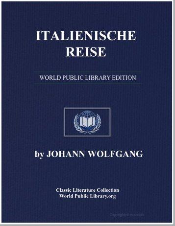ITALIENISCHE REISE - World eBook Library