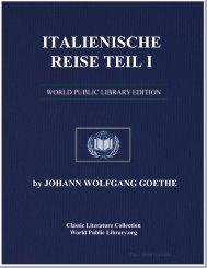 ITALIENISCHE REISE TEIL I - World eBook Library