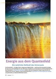 Nikola Tesla - Energie aus dem Quantenfeld