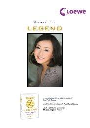 Marie Lu - Legend