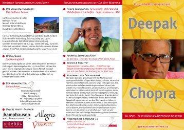 Deepak Chopra - cultusanimi Radio