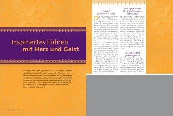 Inspiriertes Führen mit Herz und Geist - Koha Verlag