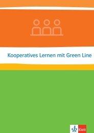 Kooperatives Lernen mit Green Line (PDF Datei ... - Ernst Klett Verlag