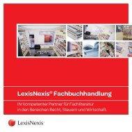 Folder Buchhandlung - LexisNexis ARD Orac