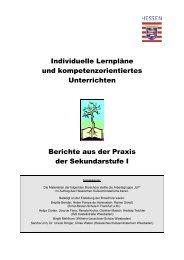 Individuelle Lernpläne und kompetenzorientiertes Unterrichten ...