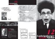 Programm Kriminächte - Stadtbibliothek Ludwigsburg