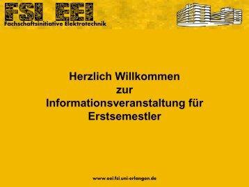 2. Fachschaftsinitiative Elektrotechnik - FSI EEI
