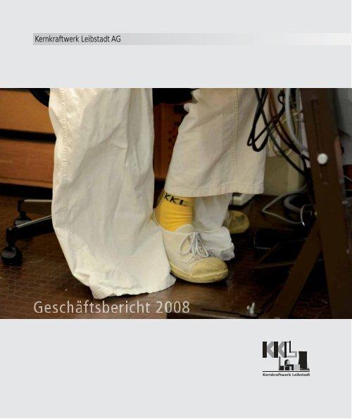 Geschäftsbericht 2008 - Kernkraftwerk Leibstadt AG