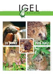 Bulletin 35 - Verein Pro Igel