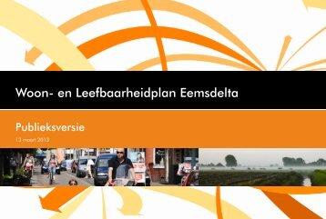 Woon- en Leefbaarheidplan Eemsdelta
