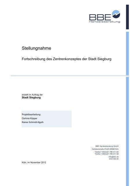 Fortschreibung Einzelhandels- und Zentrenkonzept (pdf )