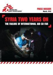 MSF_Bericht_Syrien2Jahre