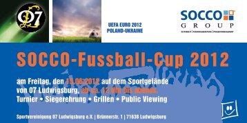 SOCCO-Fussball-Cup 2012 - socco group